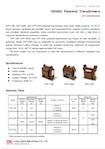 Transformateurs de potentiel en fonte époxy 10/20 kV (modèles EPF-10B / 20SE / 20SI)