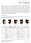 20kV Epoxy-Cast Current Transformer for Indoor Use, EWF-20D Series
