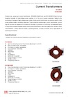 Split-Core / Ring-Core Protective-Type Current Transformers, Outdoor Use (Model: EO1MD20 / EO1MC20R)