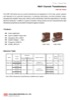 10kV Two-Core Current Transformers (EWF-10D Series)