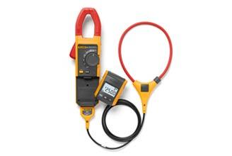 使用 iFlex™ 的 Fluke 381 遠端螢幕真均方根交流/直流電流鉤錶