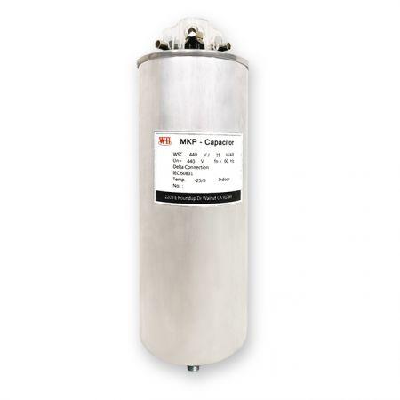 低壓圓筒式電力電容器