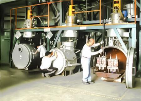 Gießmaschine - Vakuumgießen
