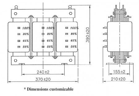 Motor Starting Reactor Drawing