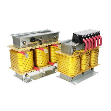 Reatores de série de baixa tensão (reatores desafinados)
