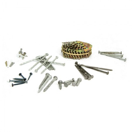 Hardware Nails or Fasteners for Various Applications - Many Shapes, Sizes, Materials