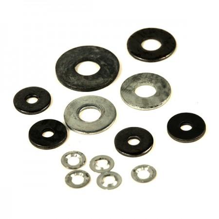 Plattenscheiben zur Verwendung mit Befestigungselementen - viele Größen, Materialien, Beschichtungen (Hardware)