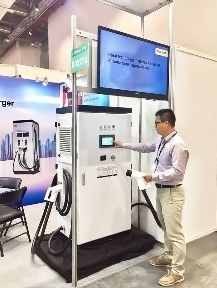 Demonstration of CIC's EV Charger