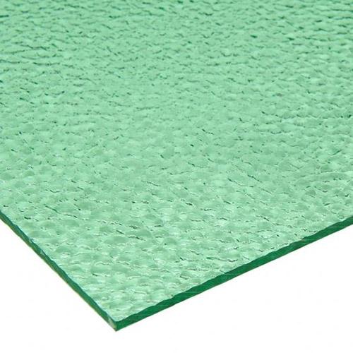 Hoja de policarbonato en relieve