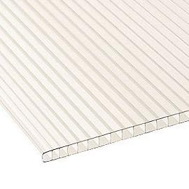 Hoja de policarbonato de pared doble
