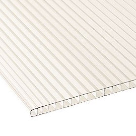 Twin Wall Polycarbonate Sheet
