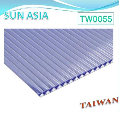 Shutter Multiwall Polycarbonate Sheet (Blue) - Shutter Multiwall Polycarbonate Sheet (Blue)