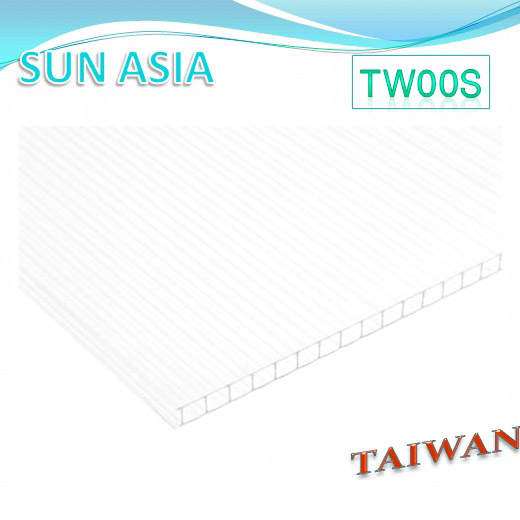 Twin Wall Polycarbonate Sheet (Clear) - Twin Wall Polycarbonate Sheet (Clear)