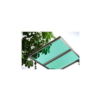 Lámina de policarbonato sólido UV400 de alto rendimiento (verde claro) - Lámina de policarbonato sólido UV400 de alto rendimiento (verde claro)