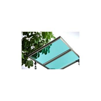 Lámina de policarbonato sólido UV400 de alto rendimiento (verde) - Lámina de policarbonato sólido UV400 de alto rendimiento (verde)