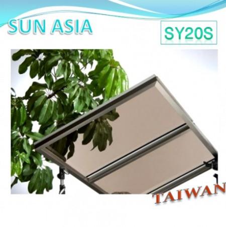 لوح بولي كربونات صلب UV400 (بني)