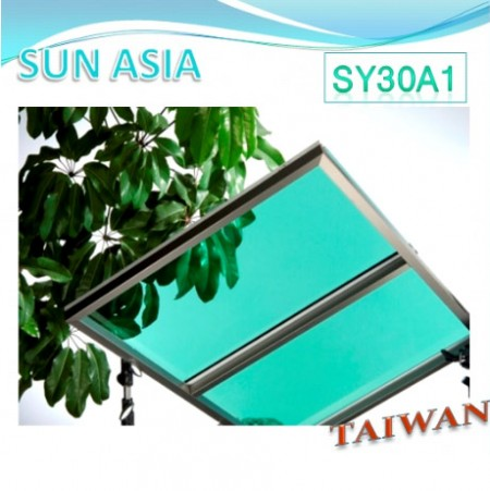 UV400 Solid Polycarbonate Sheet (Light Green)