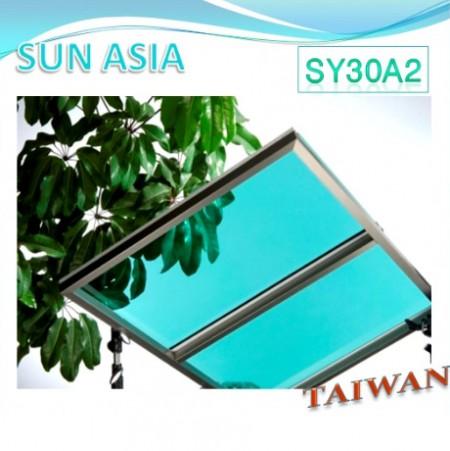 لوح بولي كربونات صلب UV400 (أخضر)