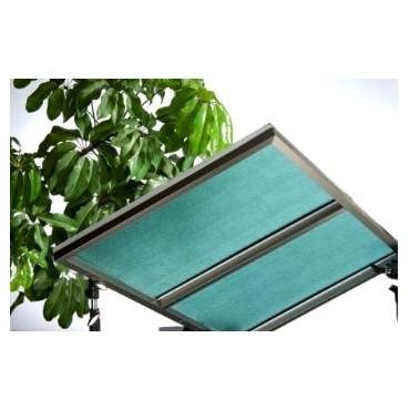UV400 PC顆粒板 (青綠色) - UV400 PC顆粒板 (青綠色)