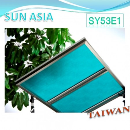 Embossed Polycarbonate Sheet (Blue Green)