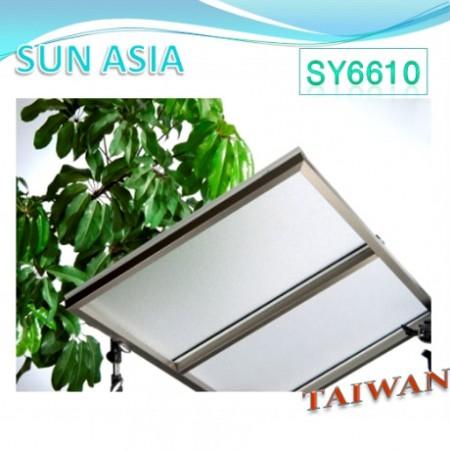 長效型UV400 PC麻面板 (透明) - 長效型UV400 PC麻面板 (透明)