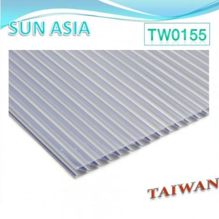 ورق پلی کربنات چند جداره شاتر (خاکستری) - ورق پلی کربنات چند جداره شاتر (خاکستری)