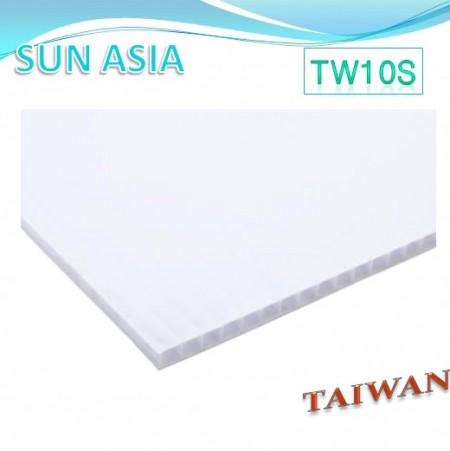 UV400 PC中空板 (乳白色) - UV400 PC中空板 (乳白色)