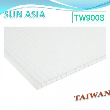 Frosted Twin Wall Polycarbonate Sheet (Clear) - Frosted Twin Wall Polycarbonate Sheet (Clear)