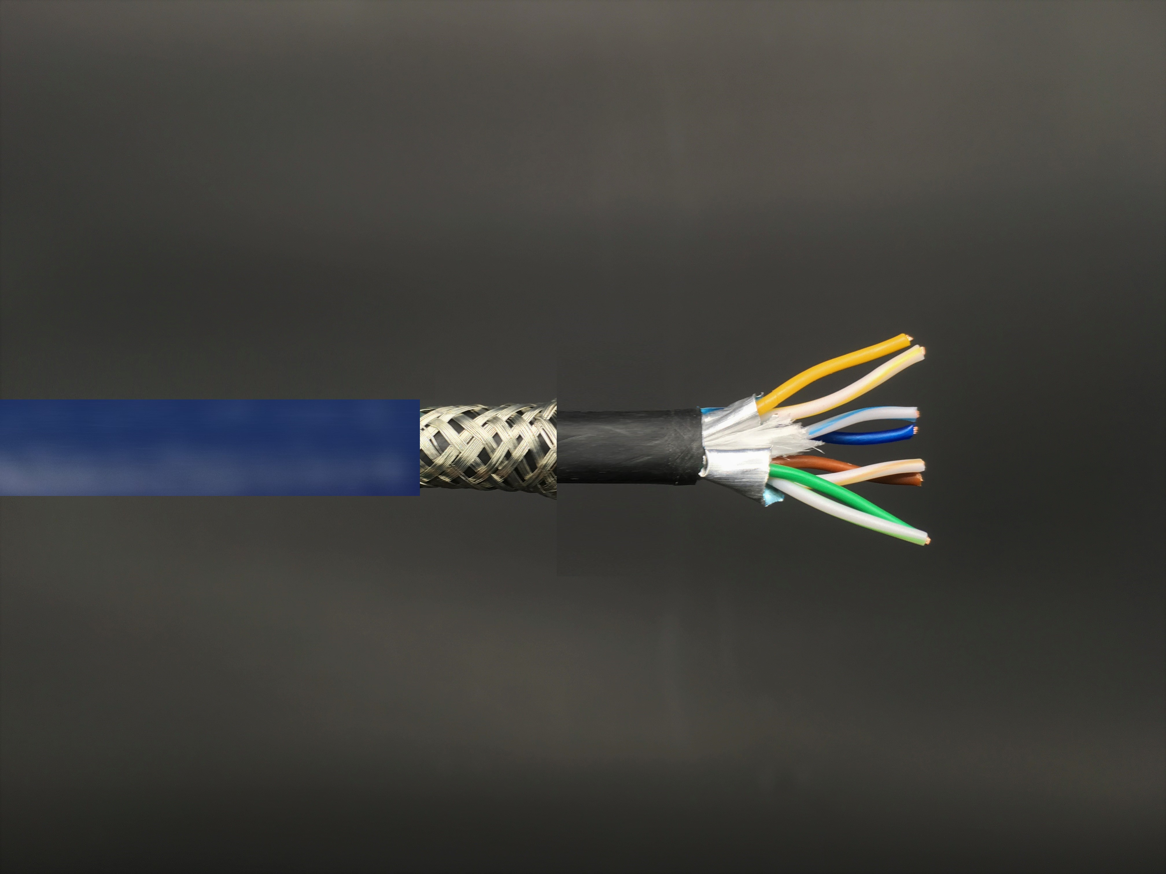CAT7 S-FTP Bulk LAN Cable, 600MHz Double Sheath
