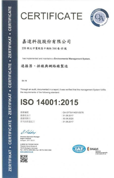 ISO-14001: 2015 (CH)