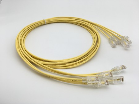 28AWG Cat.6 UTP Yellow
