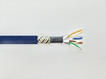 CAT. 7 S-FTP DOUBLE JACKET LAN CABLE