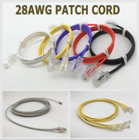 28AWG ULTRA-SLIM PATCH CORD