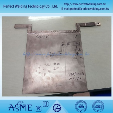 Silver Clad Copper Welding