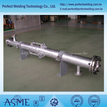 Tantalum Shell and Tube Heat Exchanger