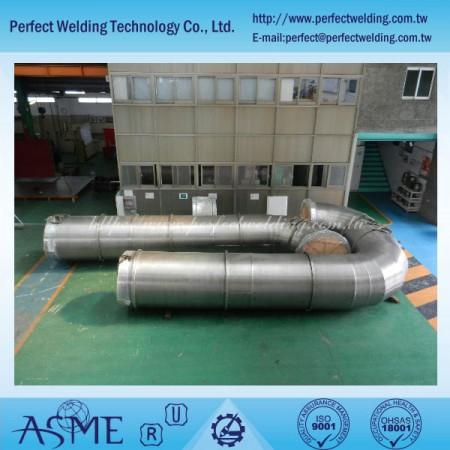 锆金属配管工程 - 化学工厂锆金属配管