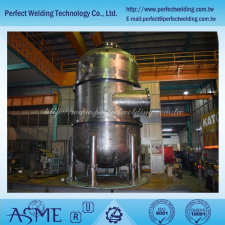 Industrie pétro-chimique - Réservoir de zirconium