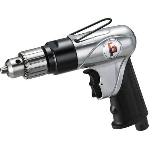 "3/8"" Heavy Duty Reversible Air Angle Drill (2000rpm) - GP-835GR"