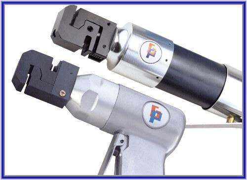 Luftstanz- und Flanschwerkzeug