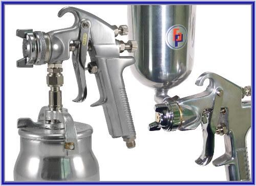 Pistola de pulverização de ar