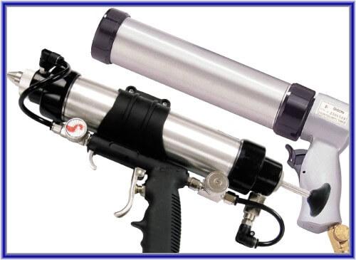 Pistol de calfatare cu aer