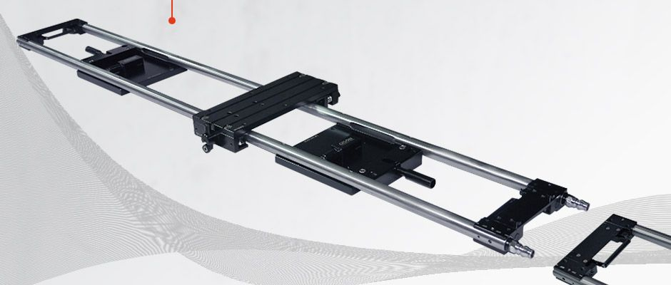 GP-VR120 مسار انزلاق خطي مع قاعدة تثبيت شفط فراغ
