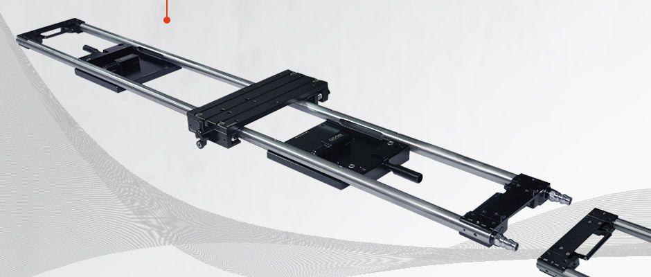 Binario lineare GP-VR120 con base di fissaggio per aspirazione a vuoto