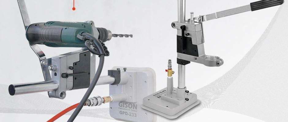Suporte de perfuração GPD-233 GISON para furadeira elétrica