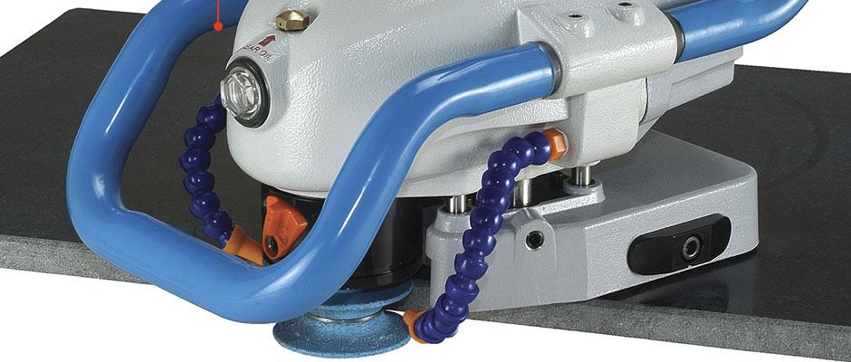Profilatrice pneumatica portatile Gison GPW-510A