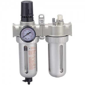 "1/4"" Air Preparation Units 3-in-2 (Air Filter/Regulator, Lubricator) GP-815H1"