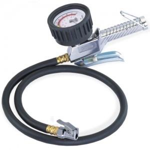 3-Function Tire Pressure Gauge (85cm Hose) GAS-1A-1