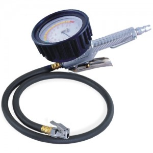 3-Function Tire Pressure Gauge (85cm Hose) GAS-1C