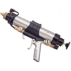 Sigillante ad aria 3 in 1 e pistola per calafataggio (asta di spinta) GP-853D