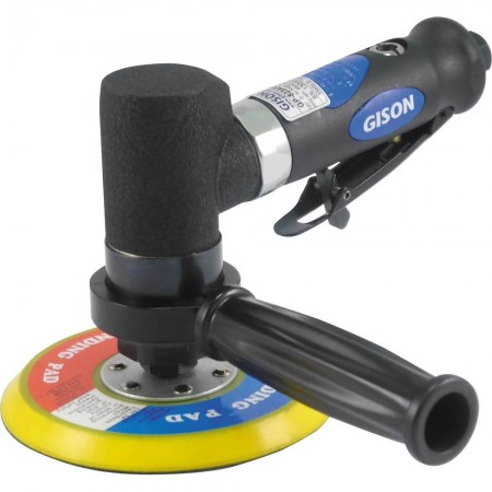 "5"" 100 degree Mini. Air Angle Polisher (3000rpm, No Gear, Rear Exhaust) GP-823AR5"